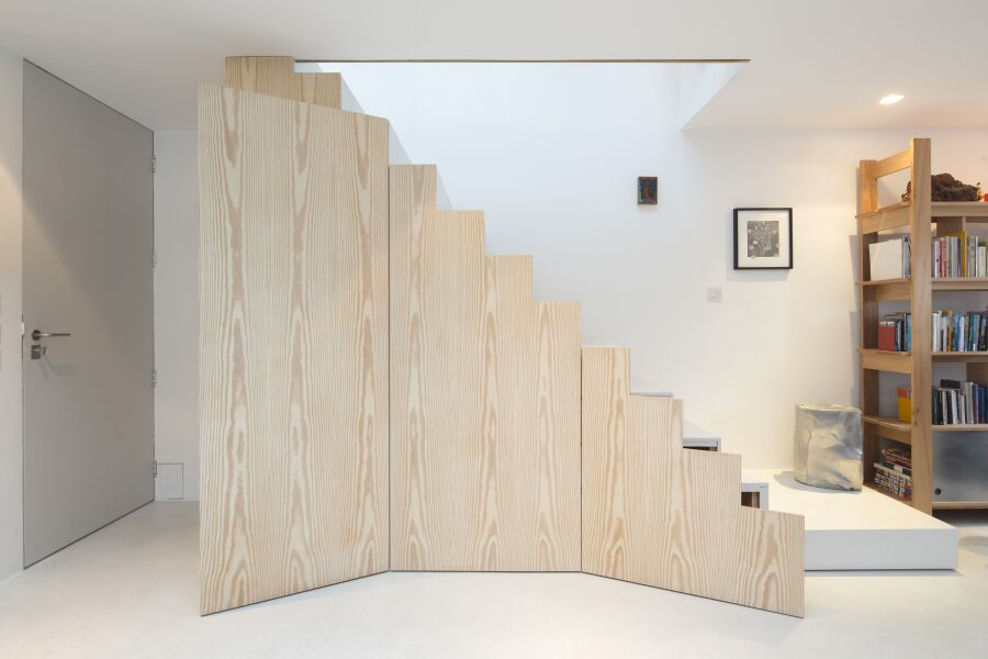 Douglas Fir veneered fronts
